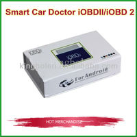 Lowest price OBDII/EOBDII Code Reader xtool iOBD2 wifi For Andriod communicate with Mobile phone by Bluetooth