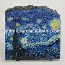 Custom decortion art stone craft stone painting