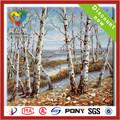 2014 la venta caliente pintura al óleo del paisaje del otoño sobre lienzos