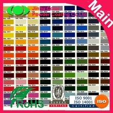 RAL Color Powder Coating paint Chemical Powder hot selling origin China