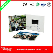 OEM 3.5 inch LCD/LED promotional video card for business use