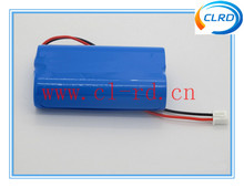 2S1P 18650 7.4V Rechargeable Li-ion Battery Pack 2200mah 4000mah With Parallel Connection