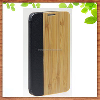gift wholesale original wooden phone case for Samsung S5,for Samsung S5 wood flip case