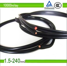 High Quality hot sale 4mm2 TUV approved mc4 solar pv connector cable for photovoltaic systems