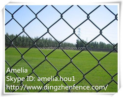 PVC coated chain link fence /Galvanized Chain Link Fence / Chain Link (CE,ISO CERTIFICATED