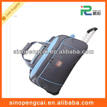 Good quality trolley bag with big size and comfortable materials for travelling use and colleges
