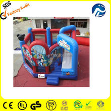 2014 Cartoon used commercial inflatable bouncer,mickey mouse inflatable bouncer slide,cheap inflatable bouncer for sale