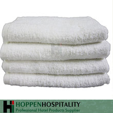 Organic Comfortable Hotel White Plain Cotton Bath Towels