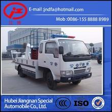 Dongfeng DFAC multi-function 3T tow lifter truck lifting platform towing wrecker (JDF5050TQZ multi-function Wrecker lifter )