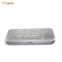 metal aluminium strong tin pencil case