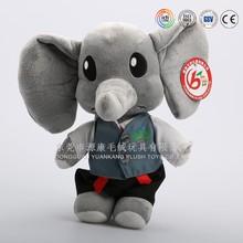 China manufacturer custom large plush toy giant stuffed elephant