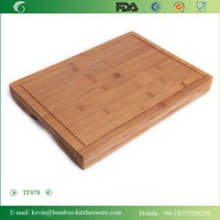 TF078/Carving square shape butcher chopping board / popular color silicone kithen utensil chopping board