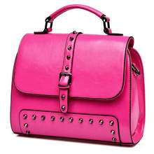 white leather studded handbag suede leather handbag stitching handbag