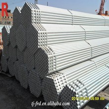 1.5 inch galvanized ERW carbon steel pipe