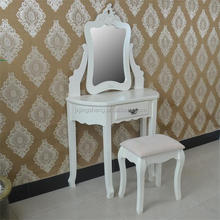 Vintage trade delicate vanity dressing table designs dresser for bedroom furniture
