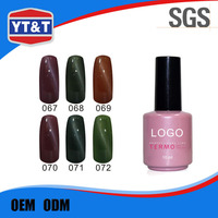 Ontime Delivery Best Quality Temperature Colour Changing Nail Polish