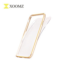 XOOMZ TPU Back Cover Metal Bumper Case For iPhone 6/plus