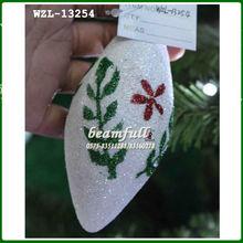 Mini blanco de la espuma/de plástico de navidad decoración reno