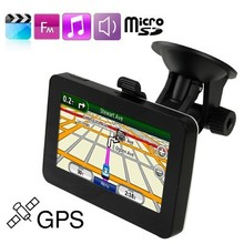 4.3 inch TFT Touch Screen Car GPS Navigator with 4GB Memory and Map, Support Micro SD (TF) Card