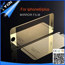 YIPI Premium Mobile phone Accessories 0.2mm protective glass films For iphone 6 clear mirror tempered glass screen protector