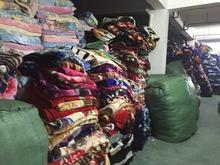 stock fabric and raschel blanket factory wholesale