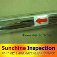 seamless steel pipe/ welded steel pipes inspection/ inspection service