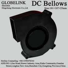 Control panel cooling fan blower 10025, 101*107*25mm dc cooling fan blower