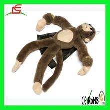 LE C1674 Hot plush Slingshot Flying Screaming Monkey