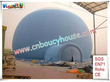 Large inflatable tent marquee for events