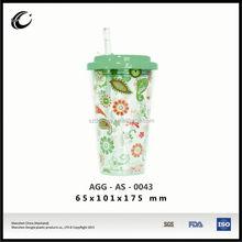 2015 oem sıcak satış yüksek kaliteli toptan plastik çay bardak ve tabaklar toplu