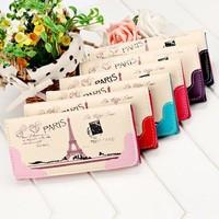 Wholesale Stylish Women's Printed Tote Handbag Portable Long Card Holder Smart Phone Case Wallet SV018651