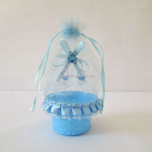 holiday items plastic basket bonding lace decoration