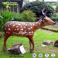 Sika Deer Park Decoration Animated Life Size Animals