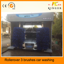Rollerover car washing system/longmen car washing system/car washer in guangzhou 3 brushes car washing machine manufacturer