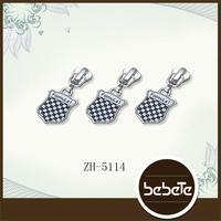 Professional Factory Sale metal zipper sliders for bags