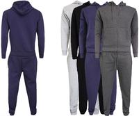 Custom 100% Cotton Polyester Jogging Suits Men Blank Jogging Suit