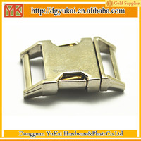 top quality quick release metal buckle for bag