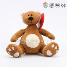 Exportações chinesas mascote personalizado bichos de pelúcia