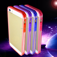 Promotion wholesale custom for iphone 6s tpu case,flash light case for iphone 5
