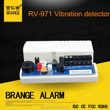 Vibration detector RV-971 Wired shock sensor can contact window and door for home security safety alarm DC12V