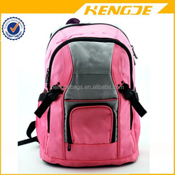 BSCI cute pink girls fancy school backpack for the spring and summer