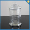 big 2500ml wholesale antique french glass jars glass apothecary jar