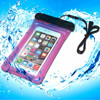 Wholesale cheap Underwater 20m phone pvc waterproof bag with string