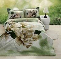 microfiber disappear printed modern colorful bed set/3d bed sheet made in china