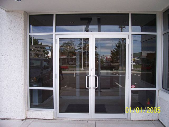 Aluminium Commercial Office Shop Front Glazing Doors Buy