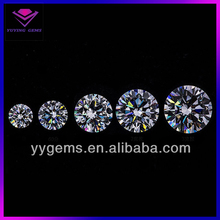 Lab created synthetic cubic zirconia loose rough diamond