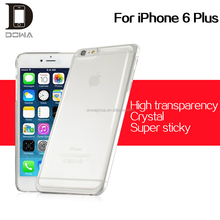 low price and high end epoxy hard plastic crystal case for iphone 6s