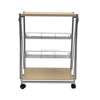 mobil food cart with wheel folding plastic cart with wheels wine cart and price