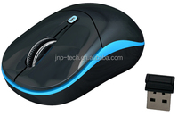 1600 cpi 2.4Ghz laptop cordless USB optical mouse