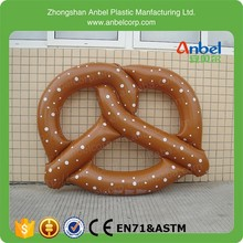 Inflatable Pretzel Float Swimming Ring Toy Australia Coast Beach